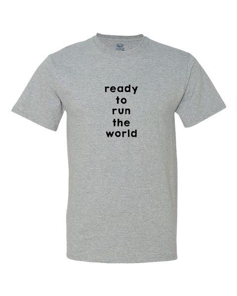 Ready to Run the World Big Kid Shirt