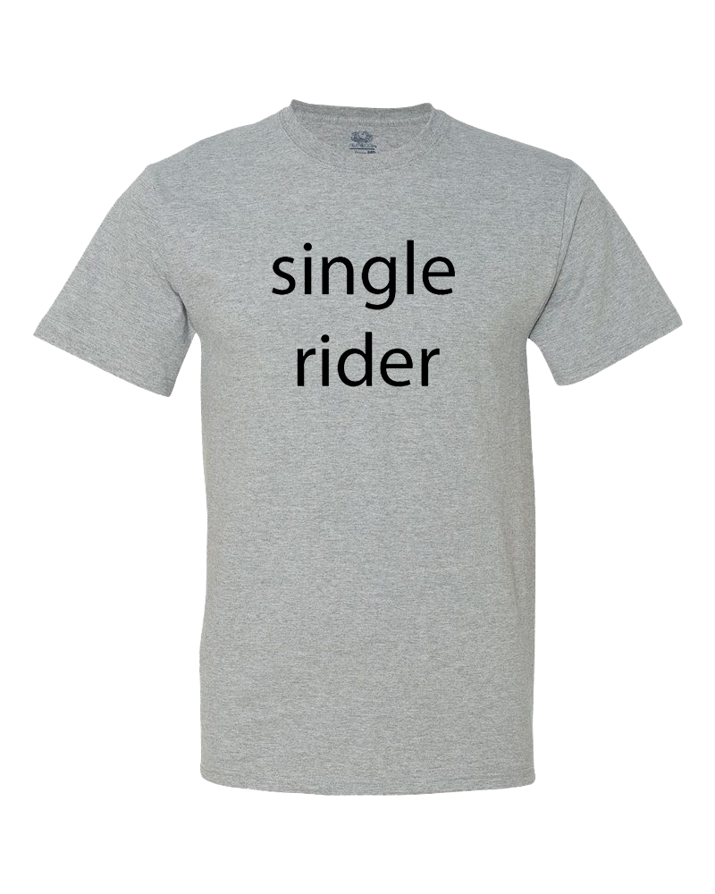 Single Rider Women's Shirt