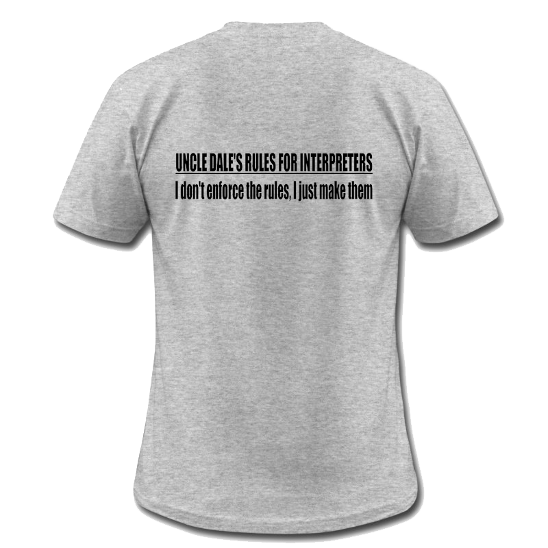 Uncle Dale's Rule 80 Men's Shirt