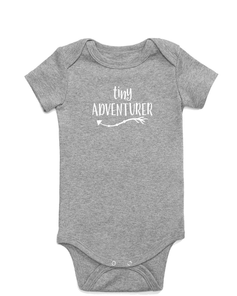 Tiny Adventurer Onesie