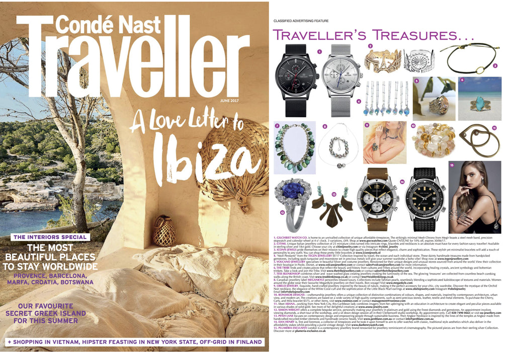 CITIMI Jewelry in Conde Nast Traveller