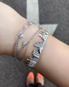City Bracelet Chicago in Sterling Silver