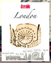 Cityscape Ring London in Sterling Silver