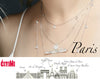 City Necklace Paris in 14K/18K Gold