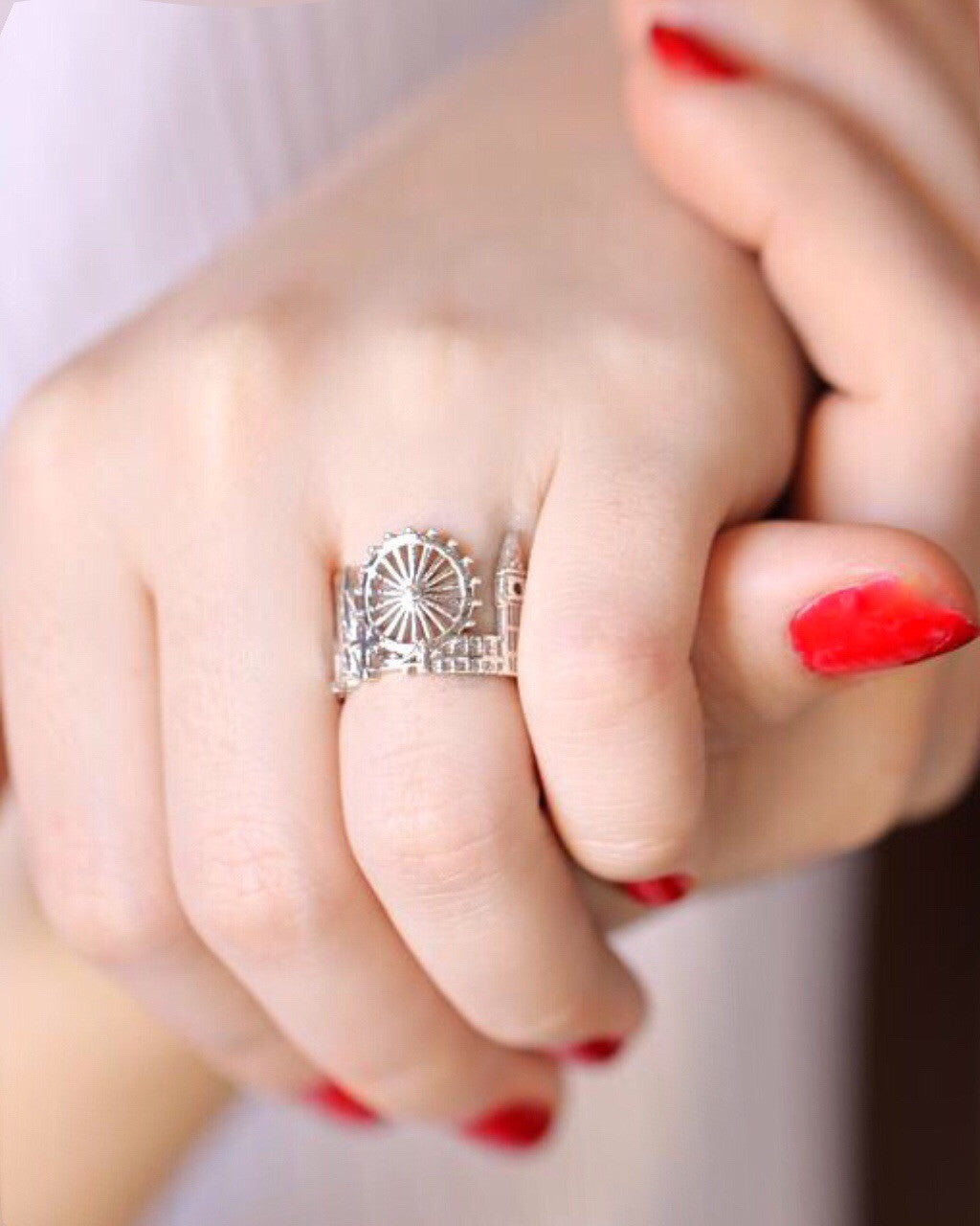 London silver ring - Skyline rings by CITIMI Jewelry