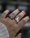 Cityscape Ring Philadelphia in Sterling Silver