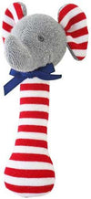 Alimrose Designs Baby Alimrose Elephant Stick Rattle Red