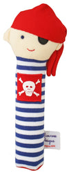 Alimrose Designs Alimrose Pirate Squeaker Navy Stripe