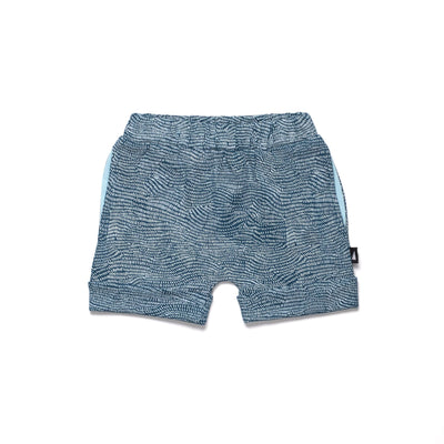 Anarkid Anarkid Etch Contrast Pocket Shorts Navy