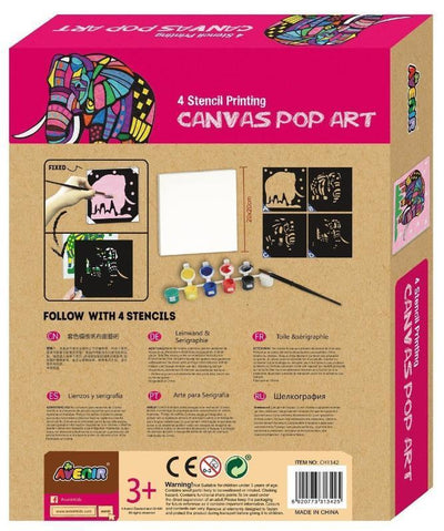 Avenir Avenir Canvas Pop Art Elephant Kit