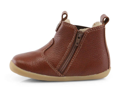 Bobux First Walker Shoes Online | Step Up Jodphur Toffee Boot | Summer Lane