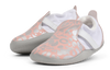 Bobux First Walker Shoes Online | Xplorer Abstract Shoe Silver & Pink | Summer Lane