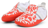 Bobux First Walker Shoes Online | Xplorer Abstract Shoe Tangerine & White | Summer Lane