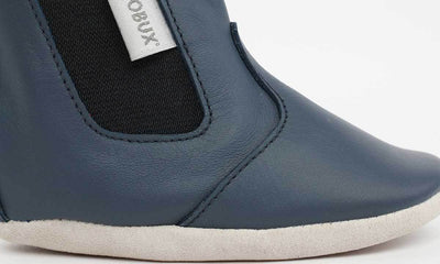 Bobux Soft Sole Shoes | Navy Jodphur Soft Sole Boot | Summer Lane