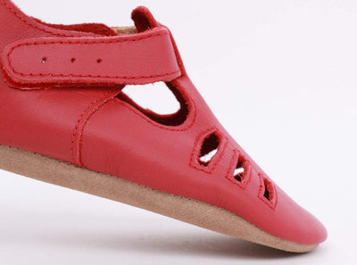 Bobux Bobux Red Chase Soft Sole Shoes