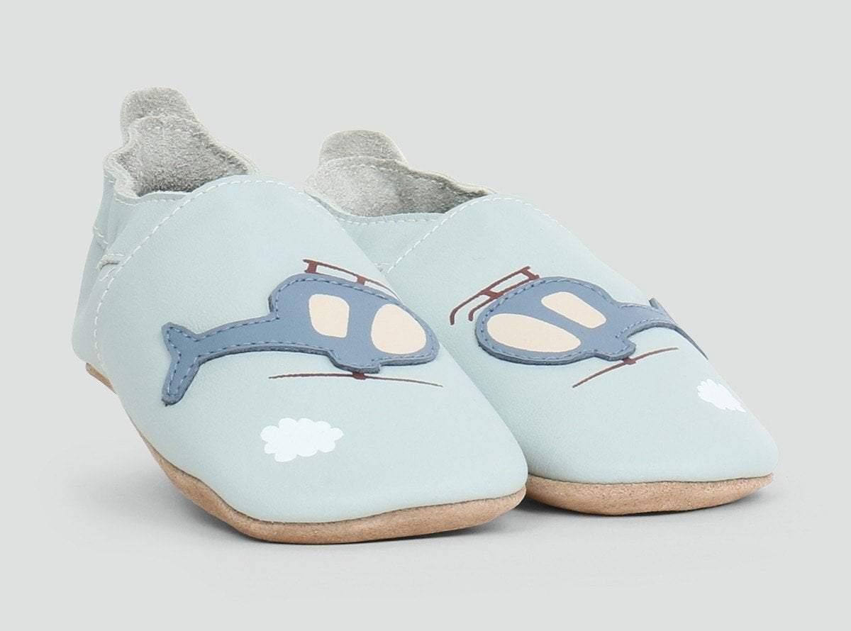 Bobux Sky Helicopter Soft Sole Shoes