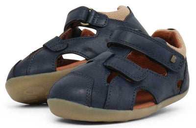 Bobux Bobux Step Up Chase Sandals Navy