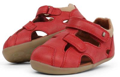 Bobux Bobux Step Up Chase Sandals Red