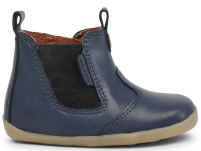 Bobux Shoes Online Stockist | Step Up Jodphur Boot Navy | Summer Lane