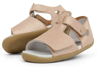 Bobux Bobux Step Up Mirror Sandals Champagne Shimmer