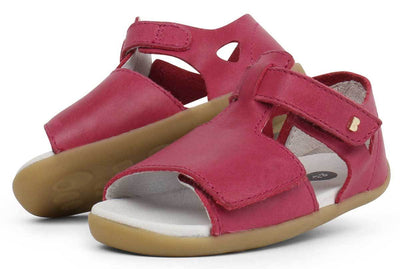 Bobux Bobux Step Up Mirror Sandals Dark Pink