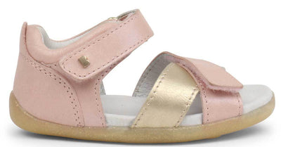 Bobux Bobux Step Up Sail Sandal Blush + Misty Gold