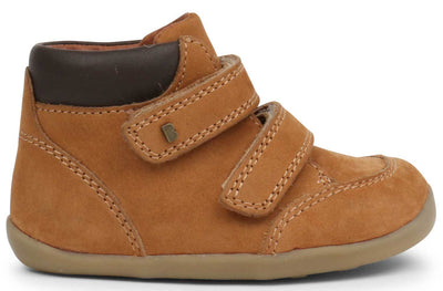 Bobux Shoes Online Stockist | Step Up Timber Boot Mustard | Summer Lane