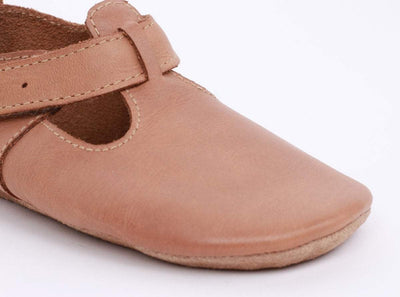 Bobux Bobux Caramel Jack and Jill Soft Sole Shoes S
