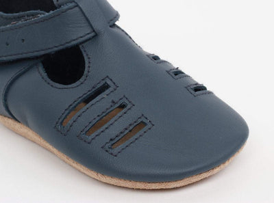 Bobux Bobux Navy Chase Soft Sole Shoes S