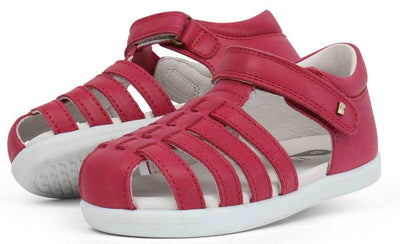 Bobux Bobux iWalk Jump Sandals Dark Pink