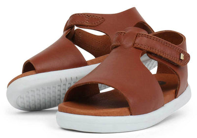 Bobux Bobux iWalk Mirror Sandals Chestnut