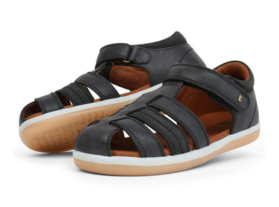 Bobux Bobux Kid+ Roam Sandals Black Ash