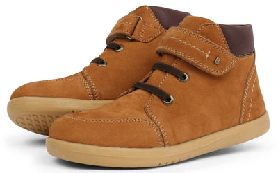Buy Bobux Kids+ Shoes Online | Timber Boot Mustard | Summer Lane