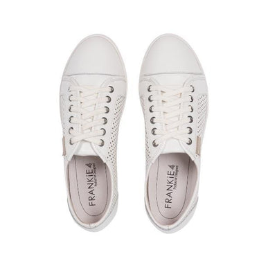 FRANKiE4 FRANKiE4 Polly White Leather Shoes for Women - FREE SHIPPING