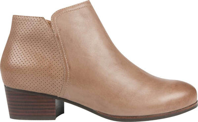 FRANKiE4 Women Shoes - Free Shipping | SALLi Taupe Leather Ankle Boot
