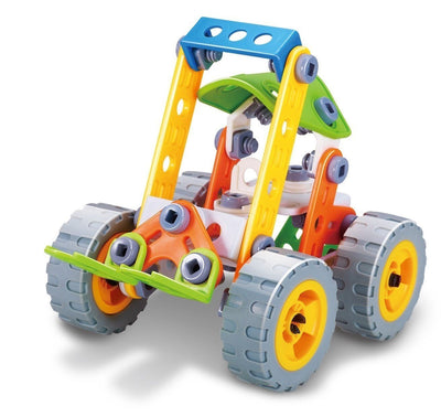 Hanye Hanye Build & Play Forklift 84 Pieces