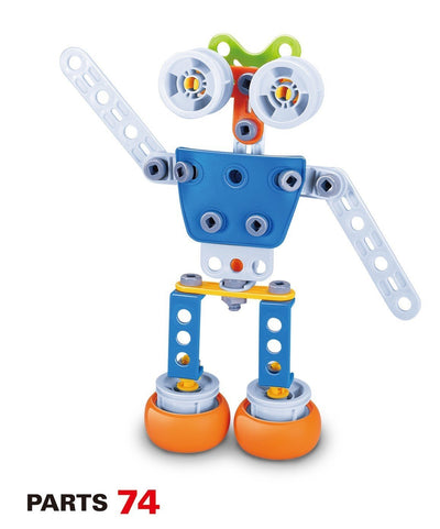 Hanye Hanye Build & Play Robot 59 Pieces