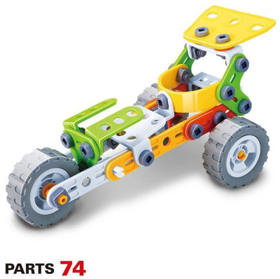 Hanye Hanye Build & Play Trike Bike 74 Pieces