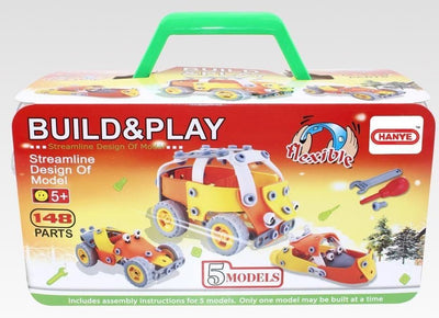 Hanye Hanye Soft Block Build & Play 148 Pieces