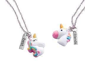 Huckleberry Huckleberry Make Your Own BFF Necklaces Unicorn Buddies