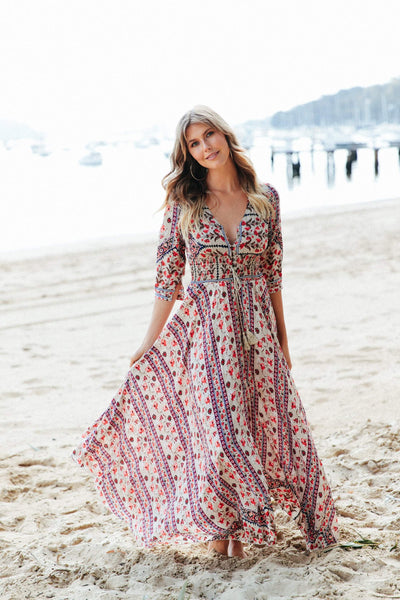 Jaase Indiana Maxi Dress in Flynn Print - Online Exclusive.