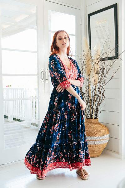 Jaase Tessa Maxi Dress in Elyse Print - Online Exclusive.
