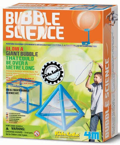 Kidz Lab 4M Kids Kidz Labs Bubble Science