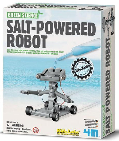 Kidz Lab 4M Kids Kidz Labs Salt Powered Robot