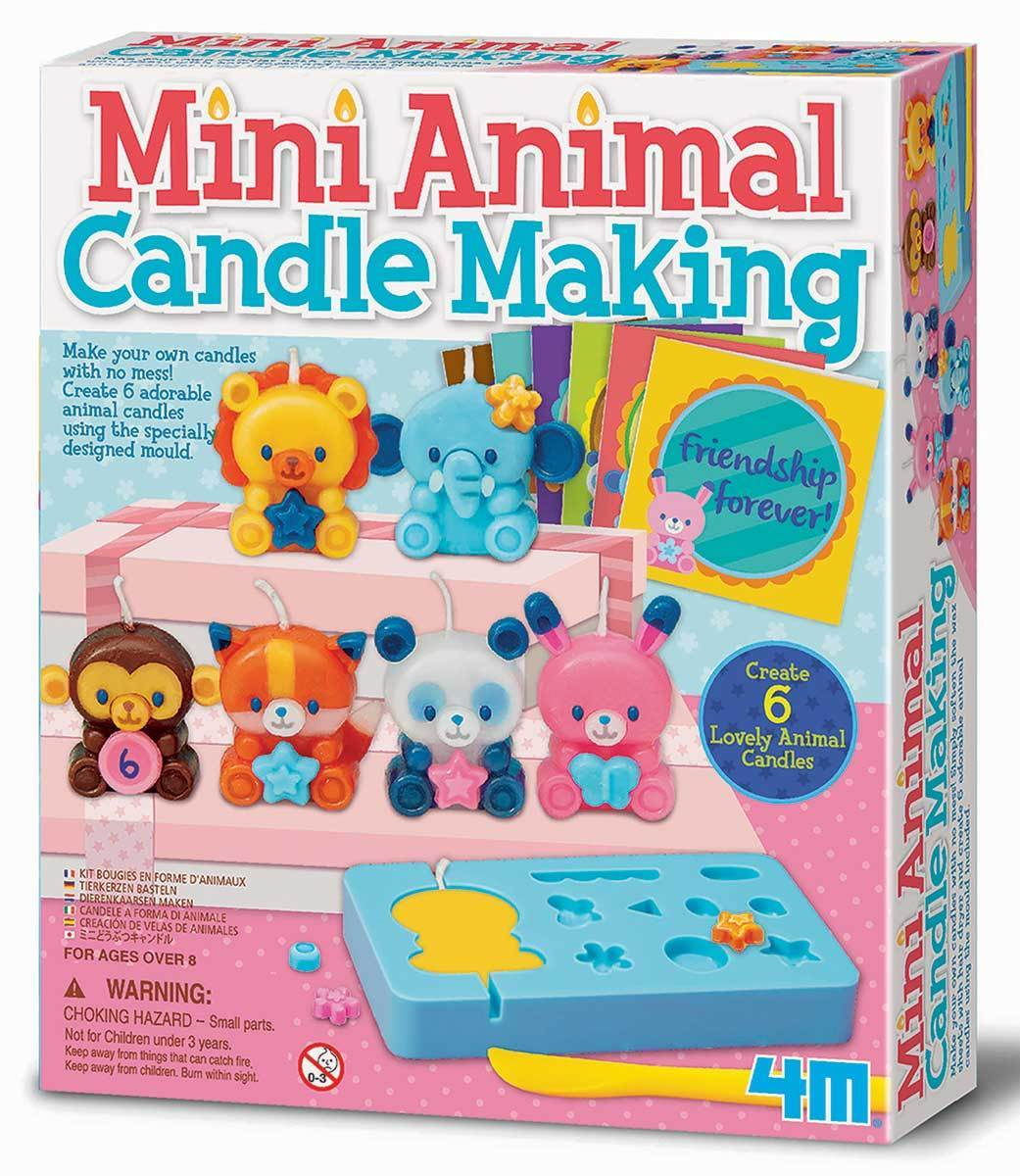 Kids Craft Kits Online | Mould & Paint Animal Candle Making | Summer ...