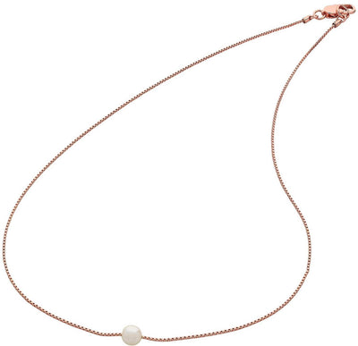Liberté Women Liberté Pip Rose Gold Necklace