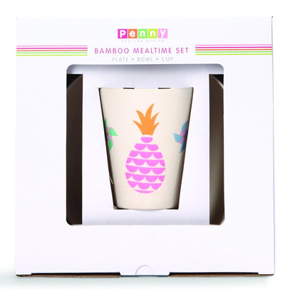 Penny Scallan Designs Penny Scallan Bamboo Meal Set Pineapple Bunting