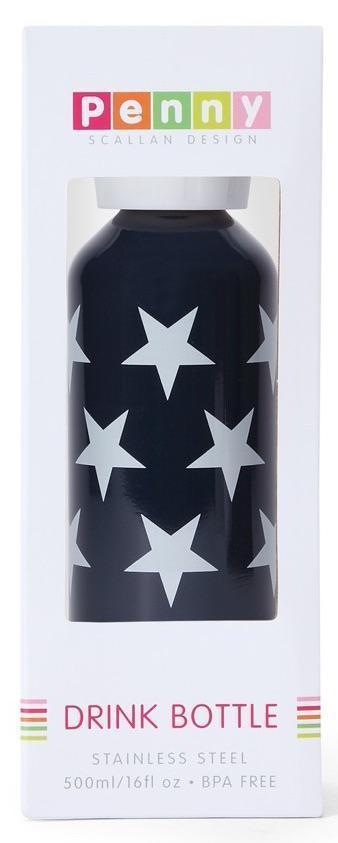 Penny Scallan Designs Penny Scallan Drink Bottle Navy Star