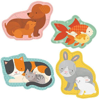 Petit Collage Baby Petit Collage Beginner Puzzle Pets