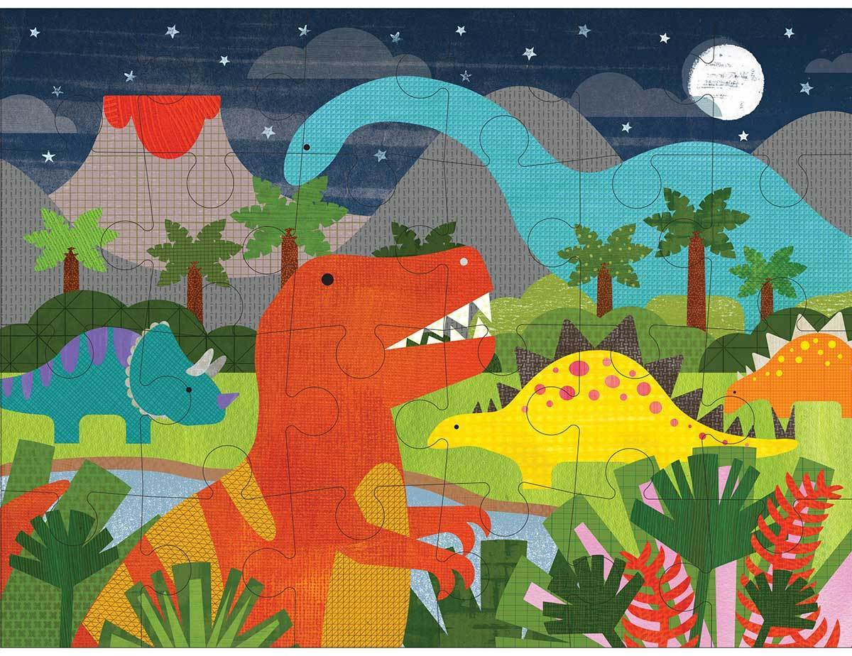 f1963345956d Petit Collage Floor Puzzle Dinosaur Kingdom - Kid s Puzzles - Summer ...